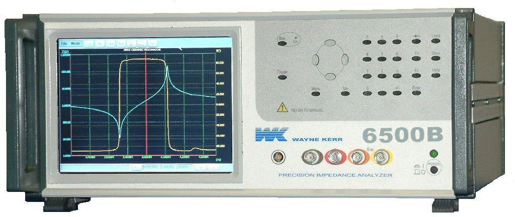 WK6500B高频精密阻抗分析仪