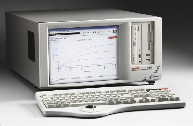Keithley 4200-SCS型半导体特性分析系统