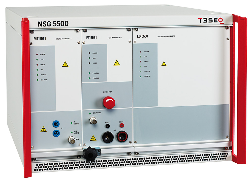 汽车电子瞬变抗扰度测试系统NSG 5500