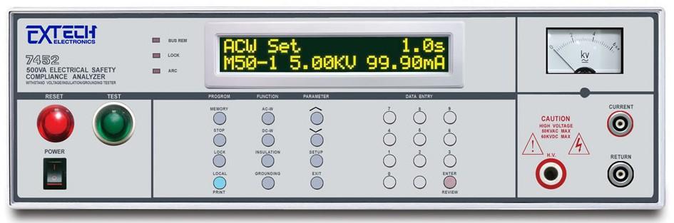 7400系列 四合一500VA安规综合分析仪