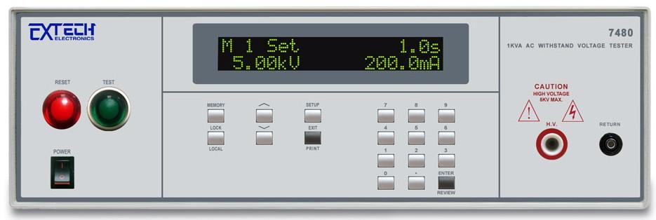 7480 1000VA 交流耐压测试器