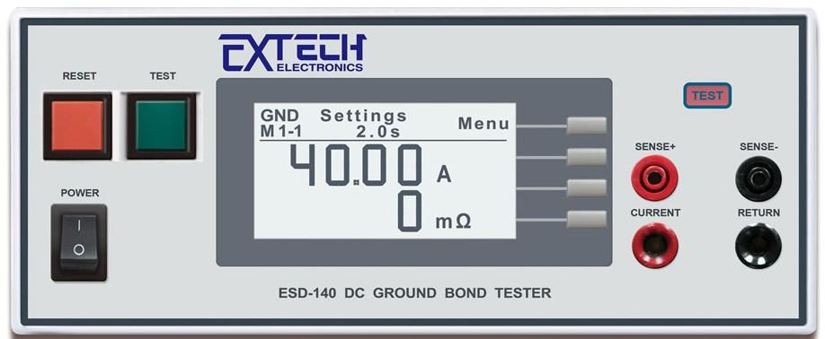 ESD 直流接地电阻测试仪