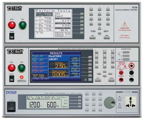 电气安规六合一测试系统 (ACW, DCW, IR, GB, TC, RUN)